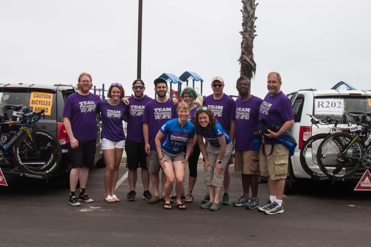 2014 RAAM Crew at Oceanside