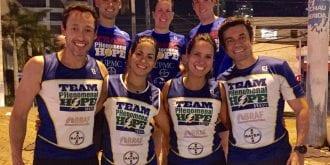 Team PH Brasil with members of Team PH US in Brasil in 2016