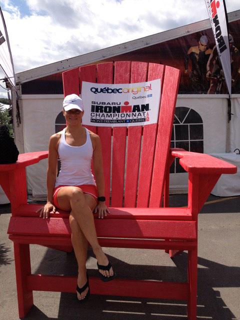 Monica Reisz big ironman chair