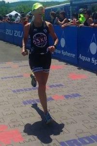 Monica Reisz running