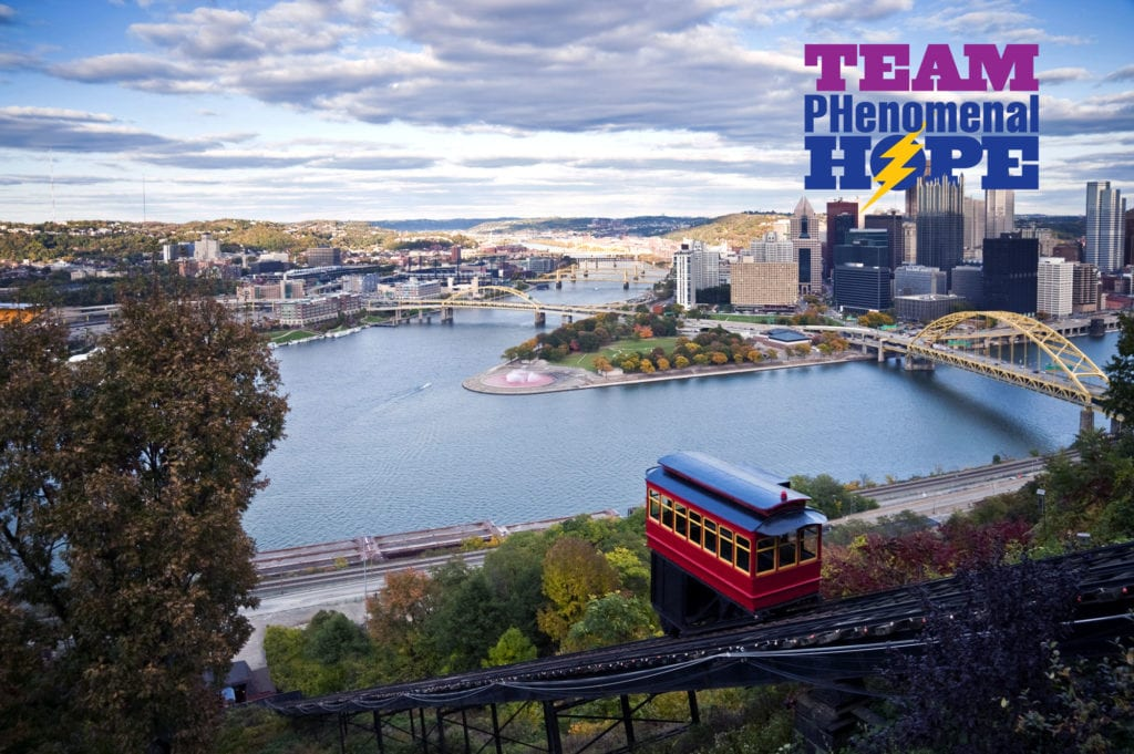2015 Pittsburgh Marathon and Team PHenomenal Hope