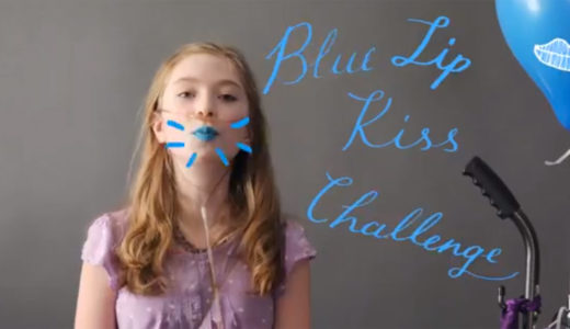 cordelia skuldt blue lip kiss