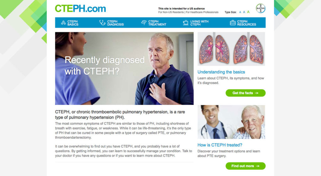Bayer Haelthcare - CTEPH