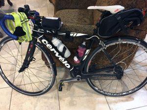 randonneuring cervelo bike