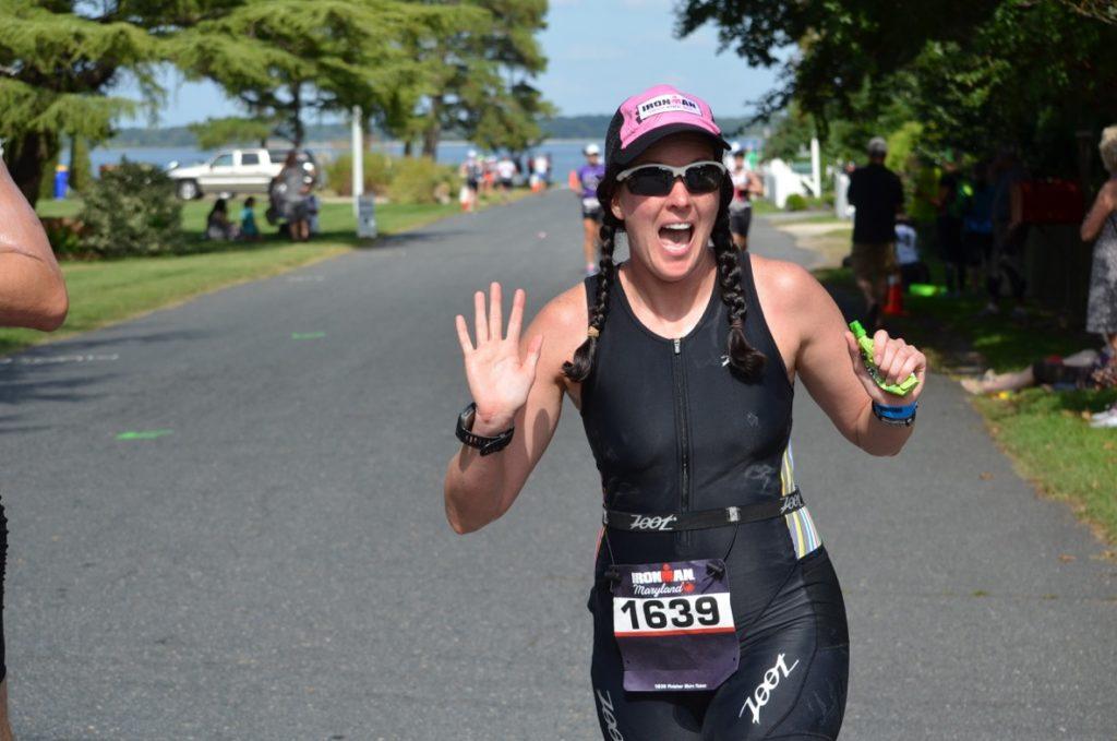 Amanada Budzowski in race gear