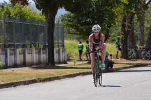 Amanda on Bicycle