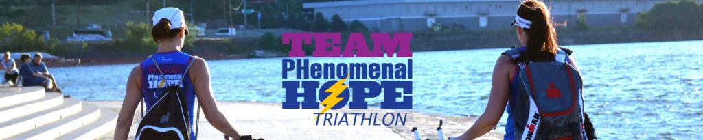 2015 Team PHenomenal Hope Triathalon Season