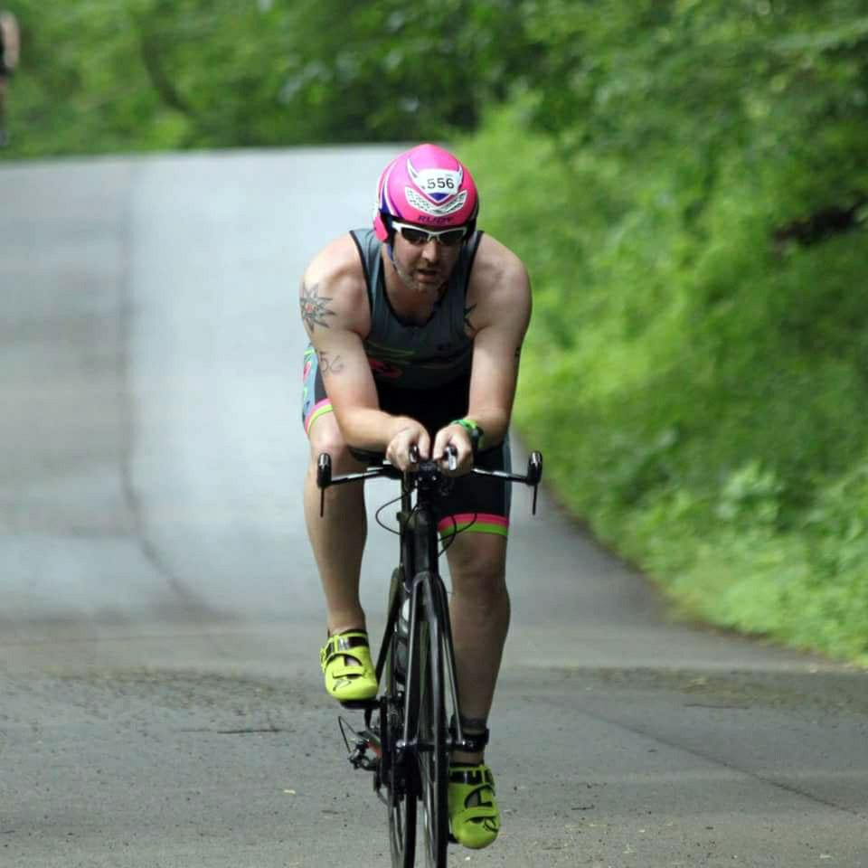Dustin Wehler mighty moraine man sprint