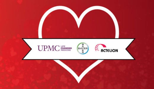 February Love for Team PH Sponsors UPMC, Bayer Healthcare, and Actelion LTD