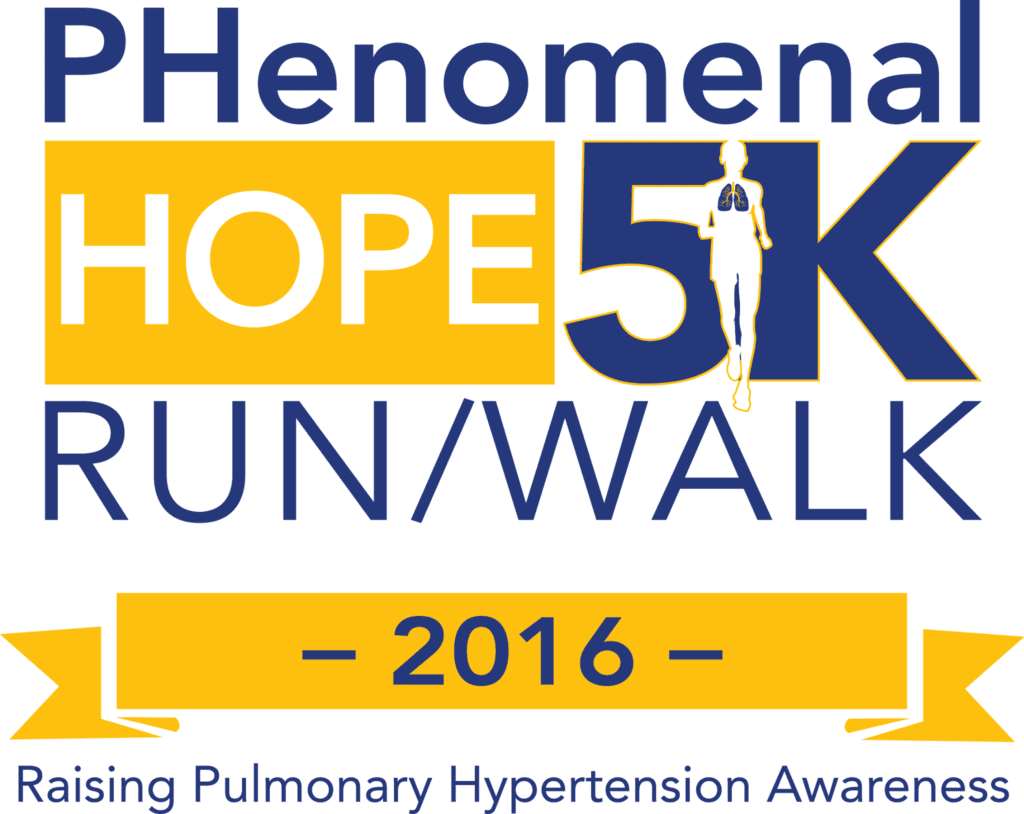 Logo for the 2015 Phenomenal Hope 5K