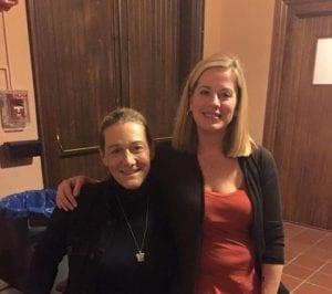 Becca Hubbard and Martine Rothblatt, founder of United Therapeutics