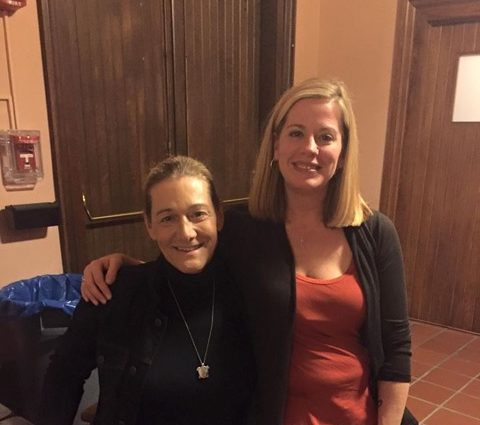Becca Hubbard and Martine Rothblatt, founder of United Therapeutics