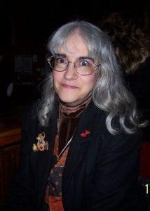 Diane Kowalik at her reunion, smiling