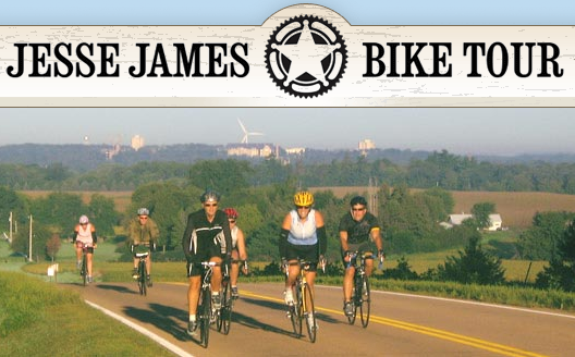 Jesse James Bike Tour logo