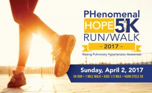 PH5K Walk to Raise Awareness of Pulmonary Hypertension and funds for research