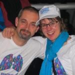 Wendy Vansteenkiste and Erik at conference