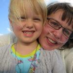 Wendy Vansteenkiste and niece