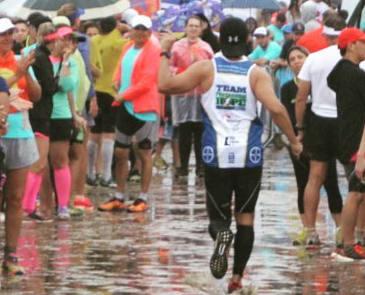 Bertioga race finisher