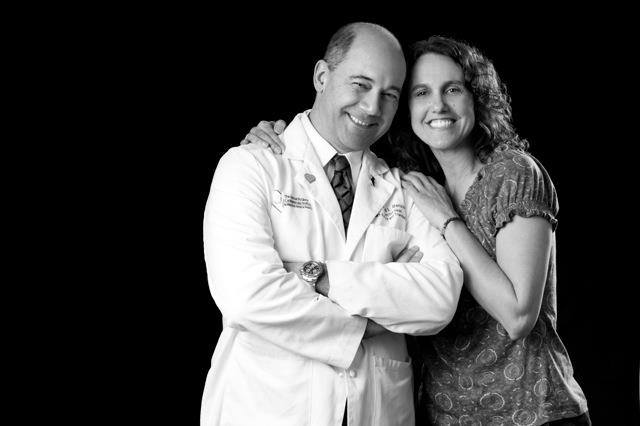 Jean Magazzu and Dr Raymond Benza, courtesy of Pittsburgh Magazine