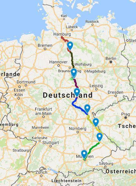 Team PH Germany to raise PH awareness in a 7-day cross ... Map Of Germany on map of european countries, map of amsterdam, map of prussia, map of romania, map of norway, map of rhine river, map of austria, map of switzerland, map of luxembourg, map of czech republic, map of united states, map of german cities, map of denmark, map of bundesliga teams, map of hungary, map of berlin, map of uk, map of netherlands, map of czechoslovakia, map of bavaria,