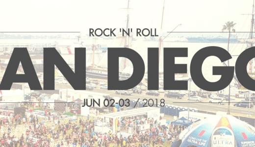 2017 Rock and Roll San Diego Marathon logo