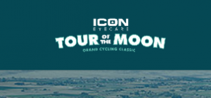 Tour of the Moon cycling event logo