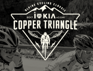 Copper Triangle race logo