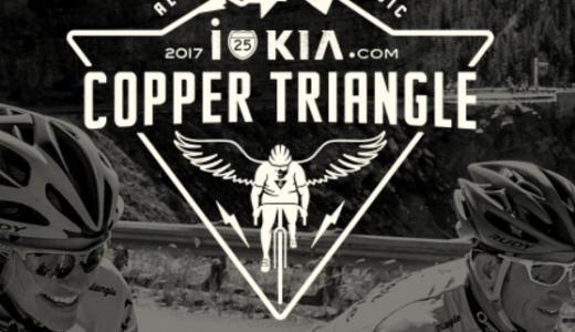 Copper Triangle race logo