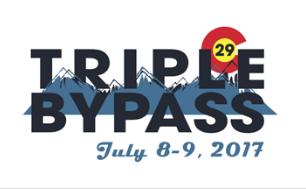 Triple Bypass cycling race logo