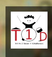 Tri-n2 Beat T1 Diabetes logo
