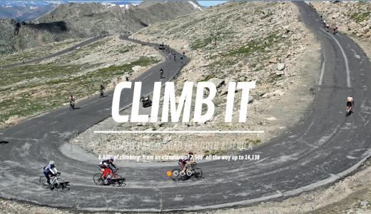 2017 Mt Evans Hill Climb logo