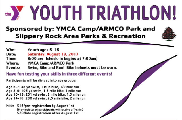 2017 Butler PA Youth Triathlon